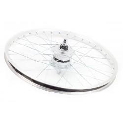 """Aluminiowe koło 20"""" z prądnicą Shimano"""